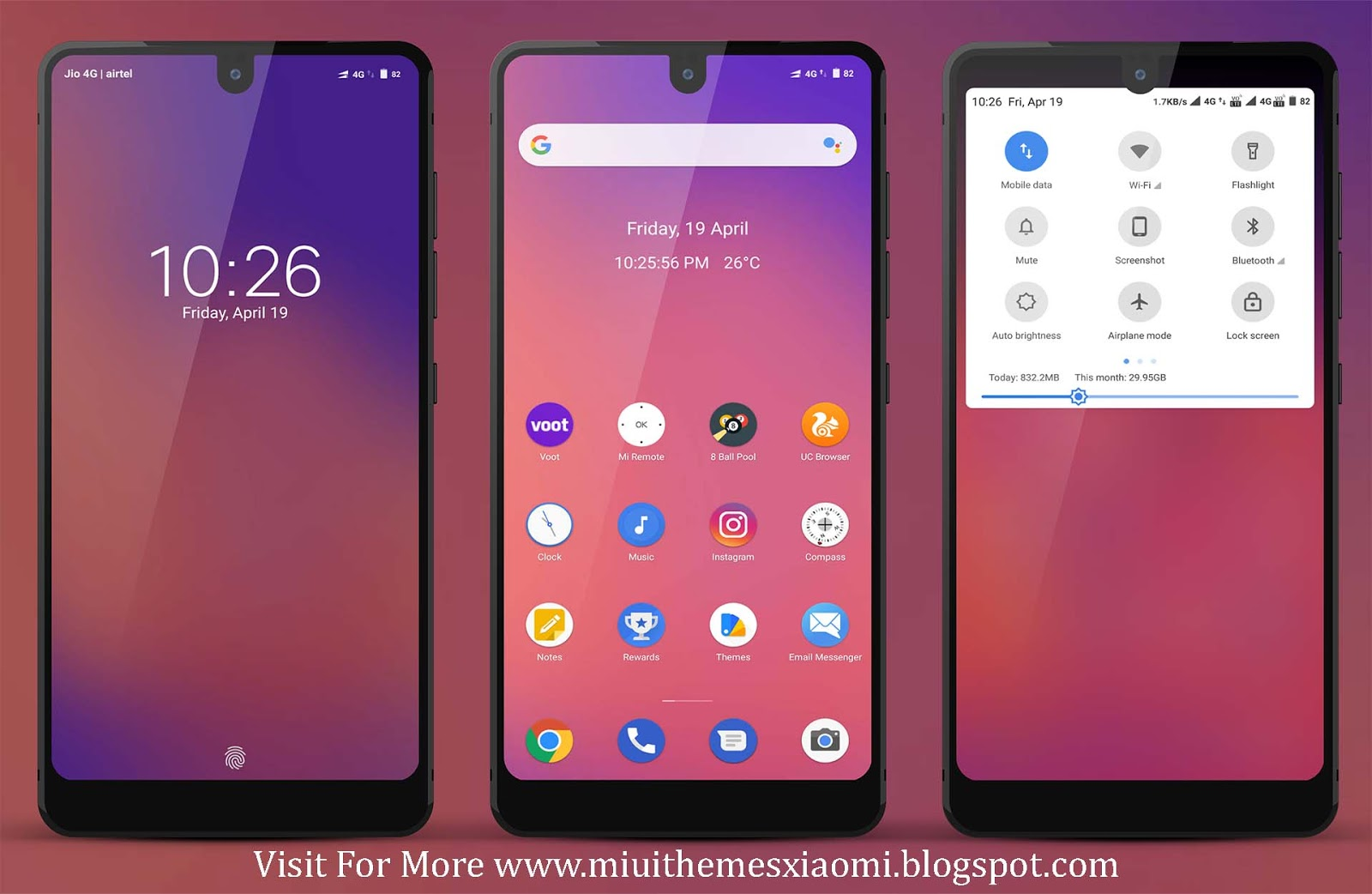 Android Pie Edition MIUI Theme Download For Xiaomi Mobile
