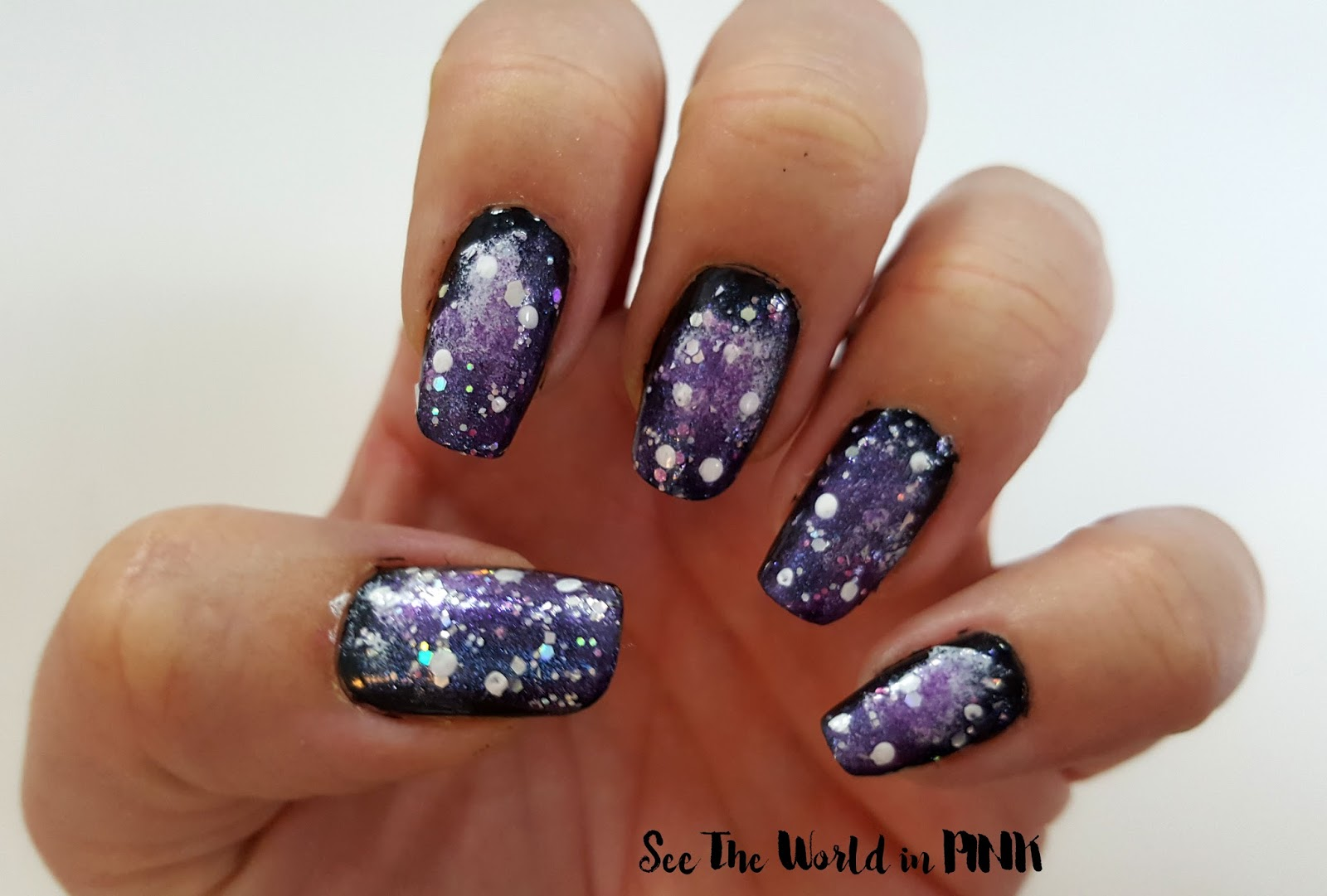 Galaxy Nail Art Tutorial
