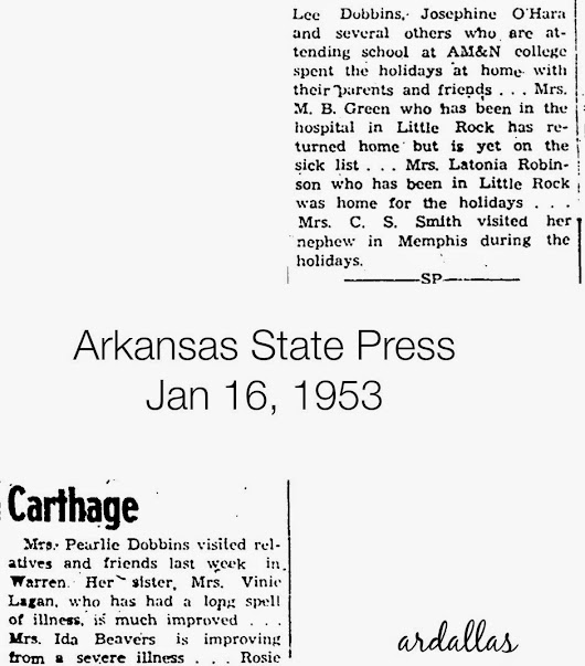 Carthage - Jan 01,1953