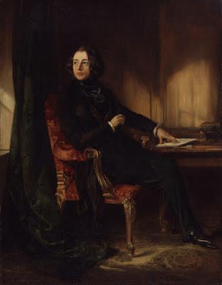 Ο νεαρός Κάρολος Ντίκενς σε πίνακα του Daniel Maclise / Young Charles Dickens by Daniel Maclise