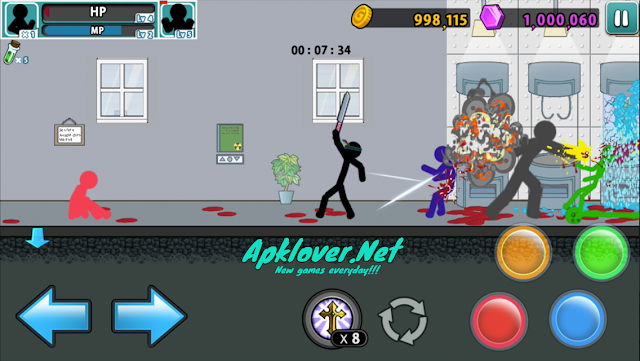 Anger of Stick 5 MOD APK Unlimited Money