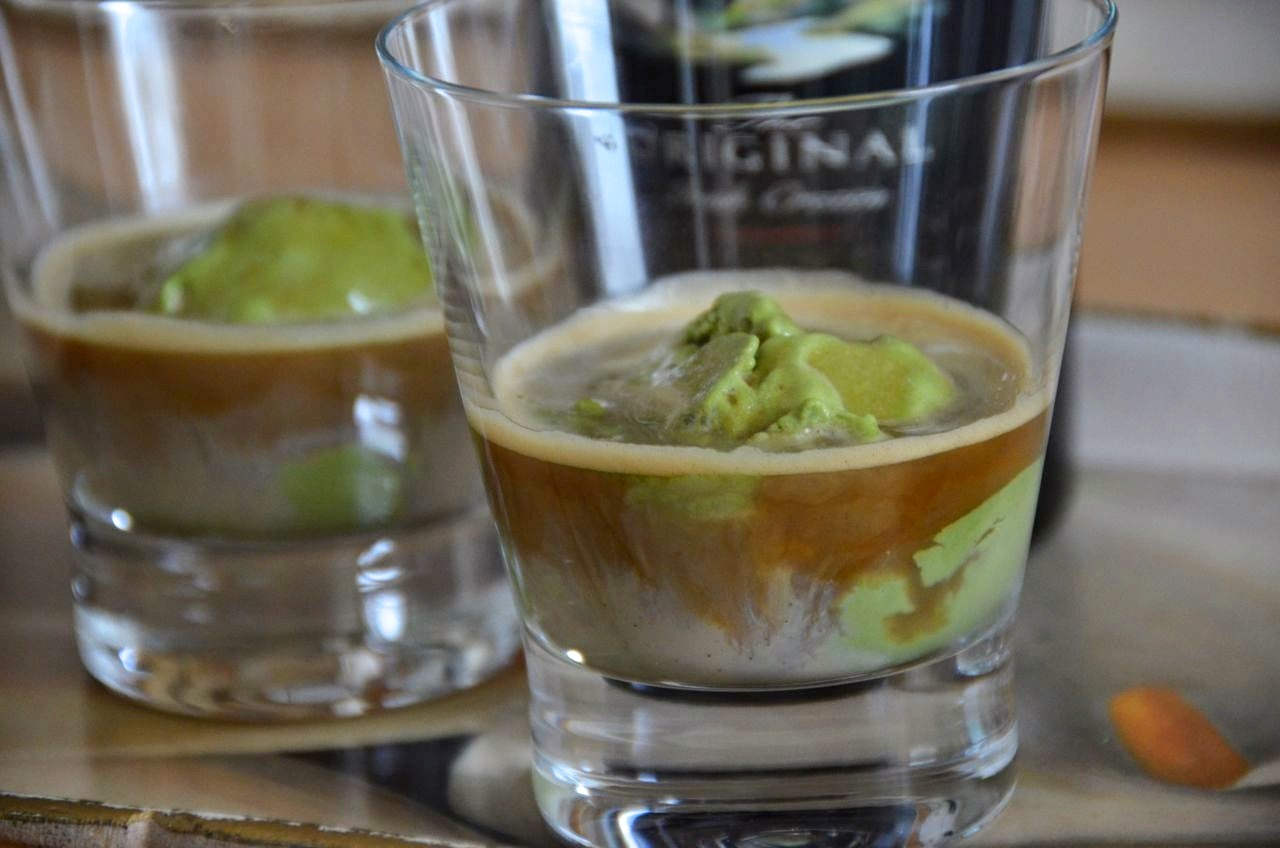 TIPSY MATCHA ICECREAM AFFOGATO