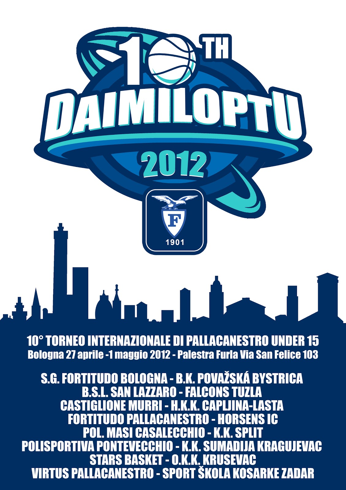 Fortitudo Calendario.Daimiloptu Gioca Chi Ospita Calendario Ufficiale
