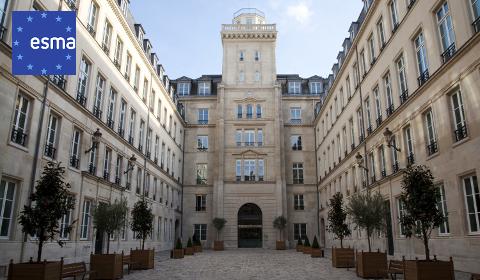 Siège de l'ESMA à Paris