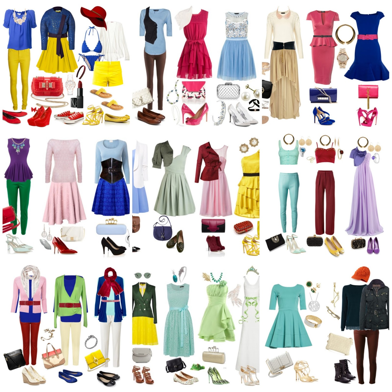 Disney Princess Fashion Series