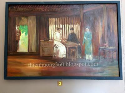 Cụ Nguyễn Sinh Sắc trị bệnh cho cụ Nguyễn Quang Diêu tại nhà cụ Võ Hoành