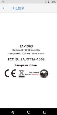 Nokia TA-1063 passes FCC
