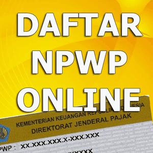 Daftar NPWP Online pajak