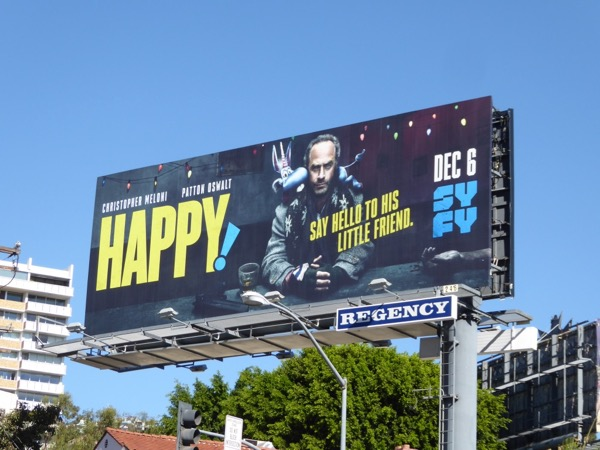 Happy series premiere billboard