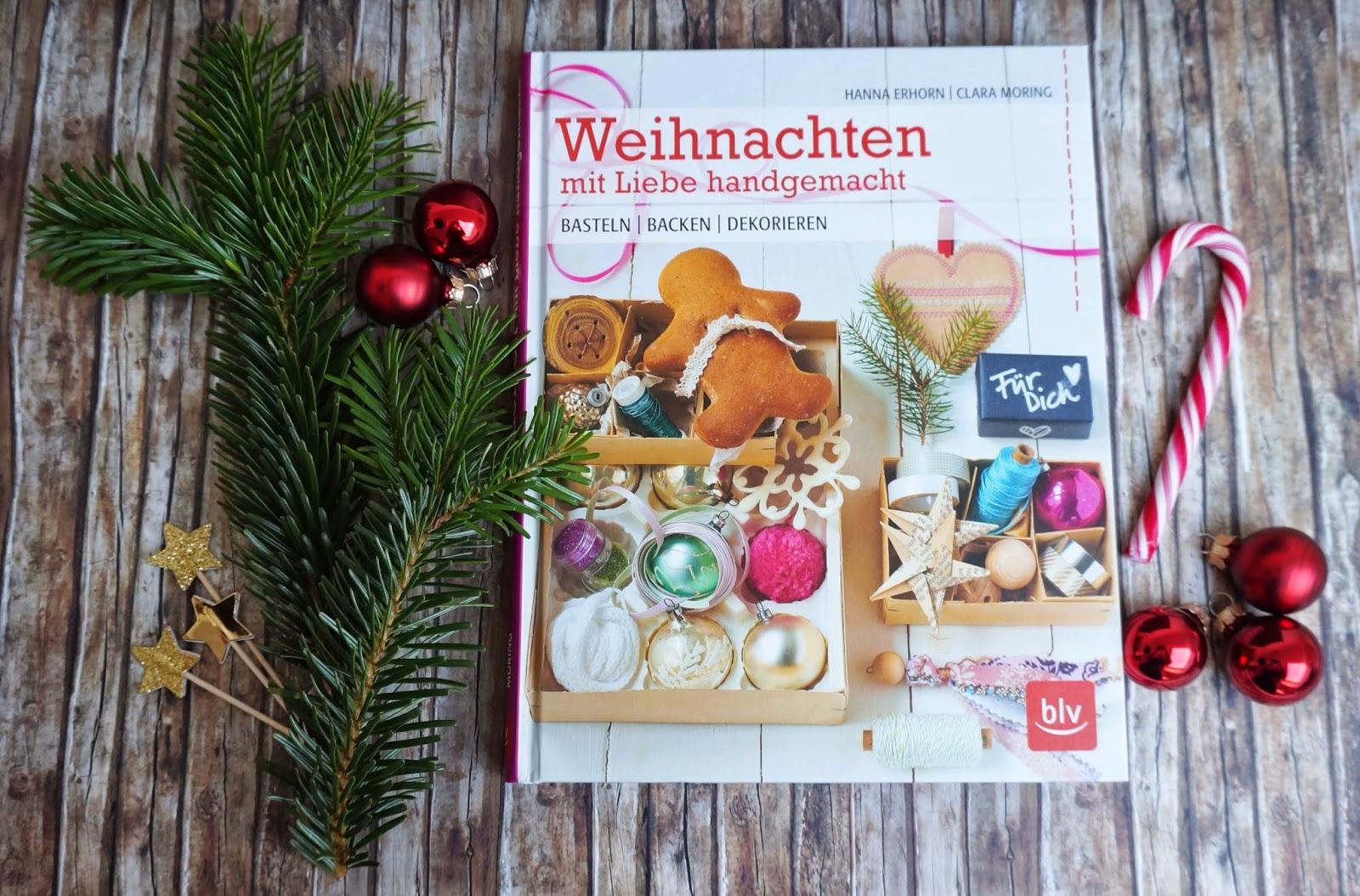 Weihnachten mit Liebe handgemacht [Buchvorstellung] und DIY ...