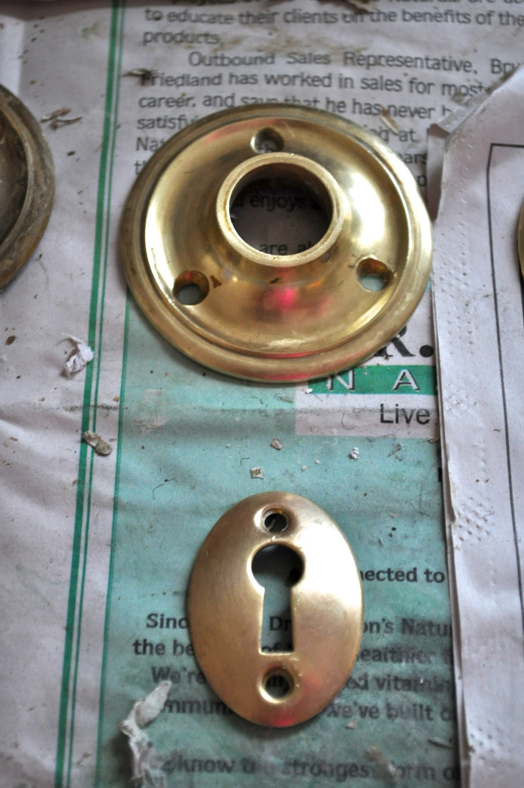 how to clean heavy tarnish off brass