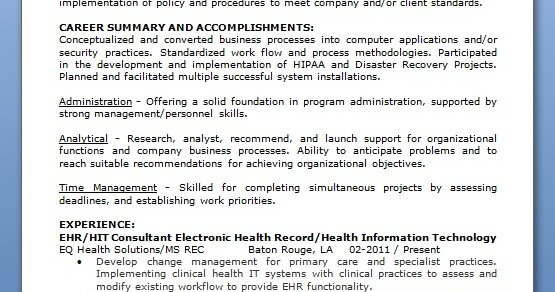clinical systems analyst sample resume systems analyst resume