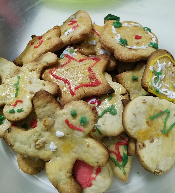 Galletas de mantequilla caseras con niños
