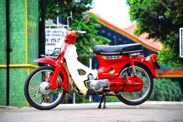 Gambar Modifikasi Motor  Honda C70 Paling Wow