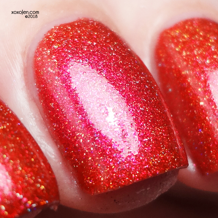 xoxoJen's swatch of KBShimmer So Cordial