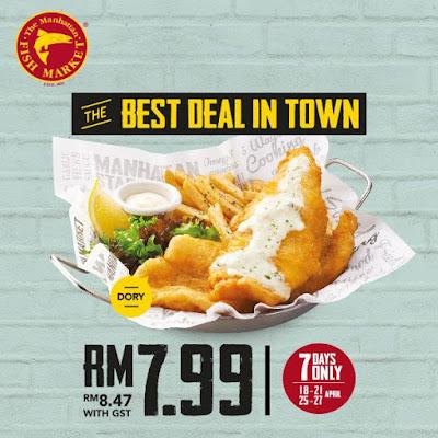 The Manhattan FISH MARKET Best Deal in Town Discount Promo