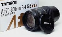 harga Jual Lensa Tamron 70-300mm for Canon Bekas
