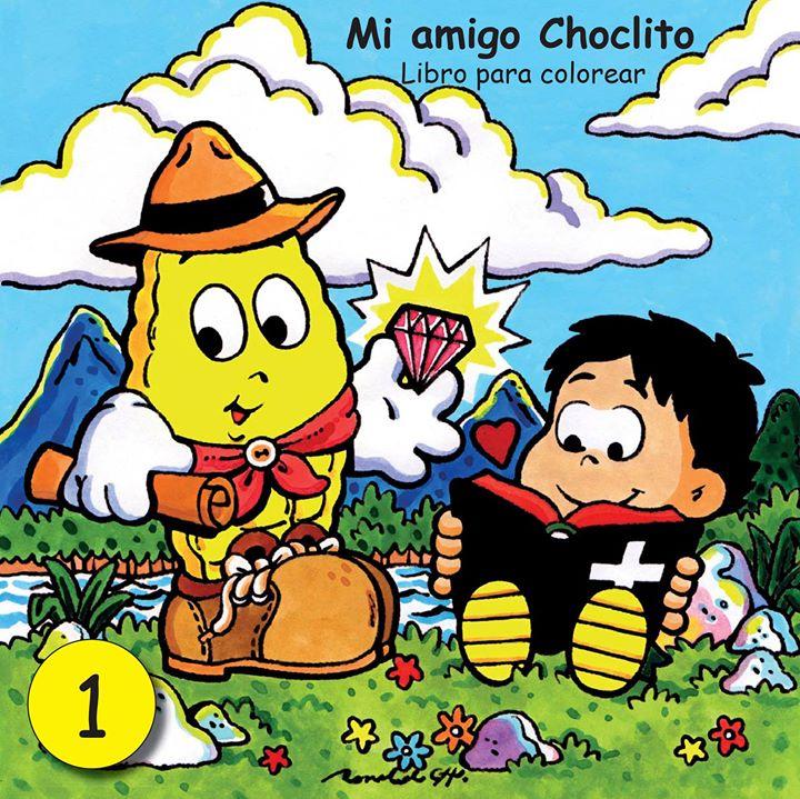 Ronald Ch.: Librito para colorear: Mi amigo Choclito