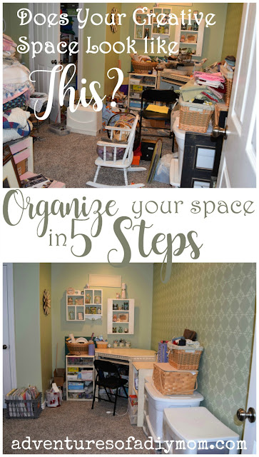 Organize your space in 5 steps
