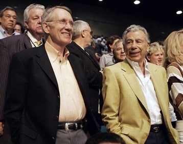 Harry Reid and Kirk Kerkorian