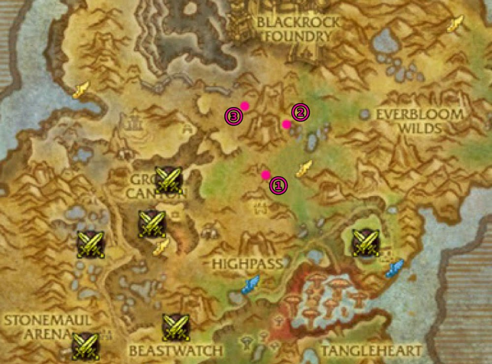 talador map bonus objectives