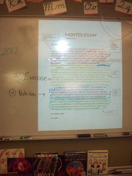 Mrs Hortons Blog Painted Essay