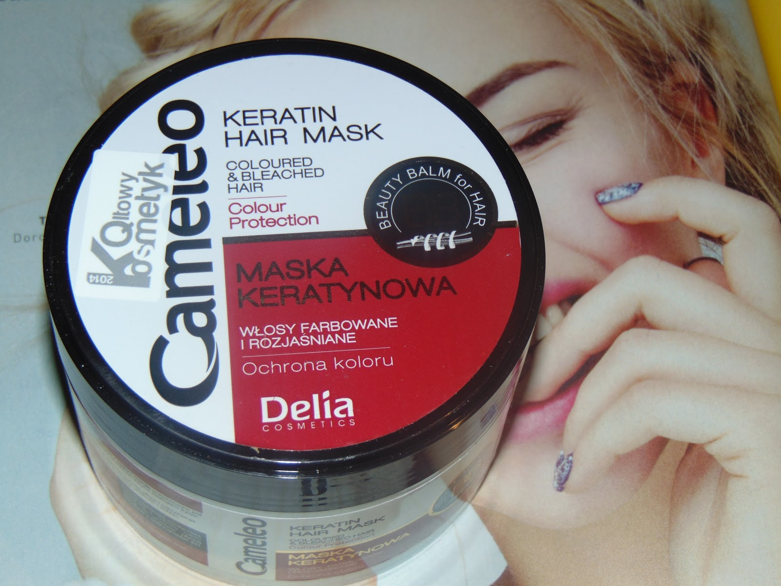 Delia Cosmetics, Maska keratynowa do włosów CAMELEO BB