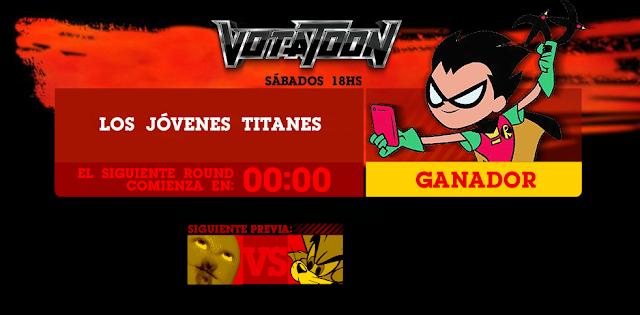 Votatoon de la Semana - Teen Titans GO