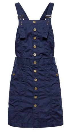 peto azul marino botones esprit overalls mono jumpsuit