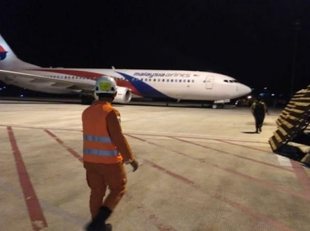 Malaysia Airlines MH-724 Mendarat Darurat di Jambi