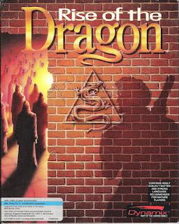 Portada Videojuego Rise of the Dragon