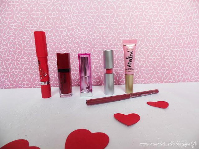 6 rouges à lèvres sublimes pour la Saint-Valentin