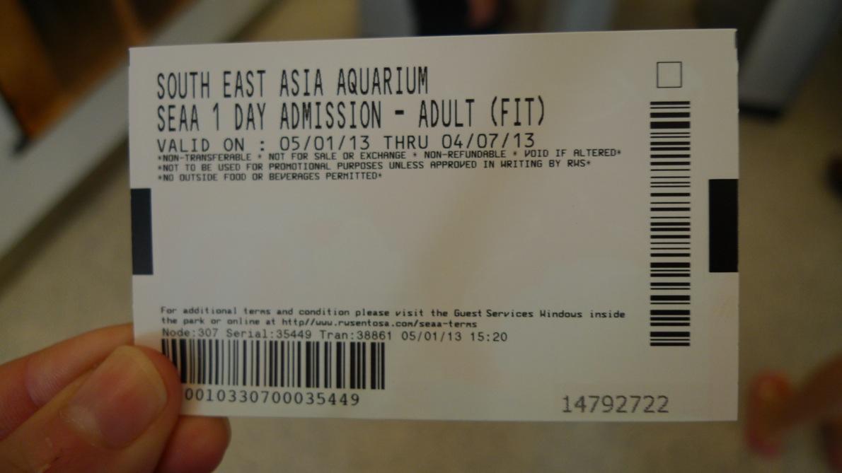 Rio Azzaro Harga Tiket Adventure Cove Sea Aquarium Singapura Singapore Dewasa Masuk Ke Sentosa Island