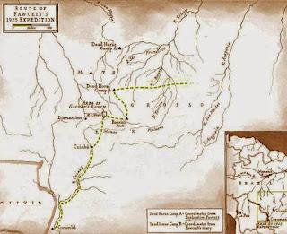 Expedicion de Fawcett a la ciudad perdida de Z