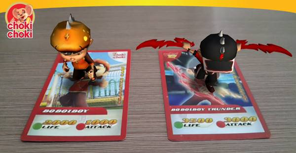 Augmented Reality game Choki-CHoki AR Boboiboy Android Indonesia