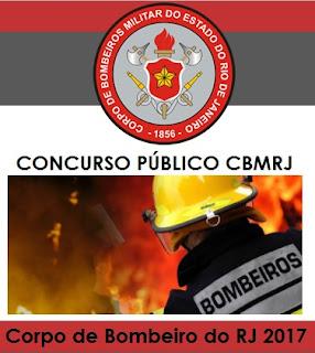 Concurso Bombeiros do RJ (CFO)