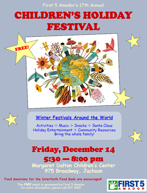 17th Annual Children's Holiday Festival - Fri Dec 14