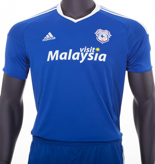 4b69f06b4 Cardiff City 16-17 Home and Away Kits Released - Footy Headlines