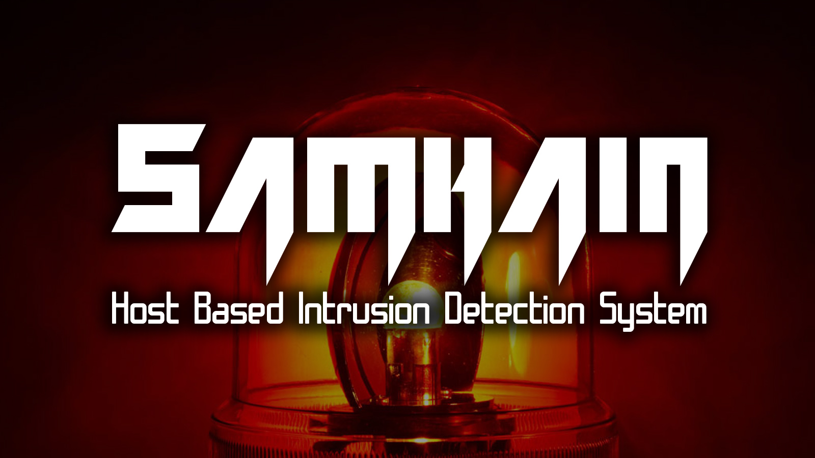 Samhain Host Based Intrusion Detection System via File Integrity Checking