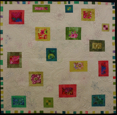 Creates Sew Slow: Creative Construction - My Tangled Garden by Jenny Bowker