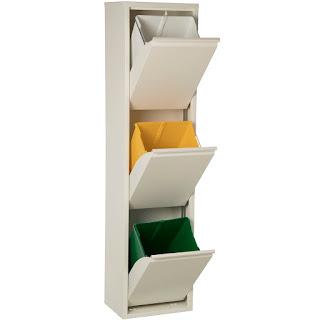mueble contenedor reciclaje