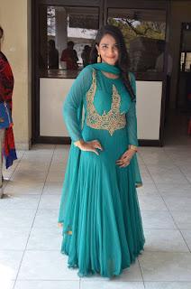 Actress Sushmita Stills in Green Dress at Raju Gari Intlo 7va Roju Release Press Meet 0015
