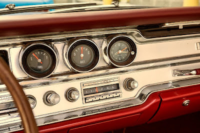 1965 Pontiac Bonneville Convertible Interior Sign and Panel