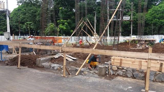 Terkumpul dana Rp 476 juta, Pembangunan Masjid Fapet  Sudah Dimulai Lagi Setelah Lebaran