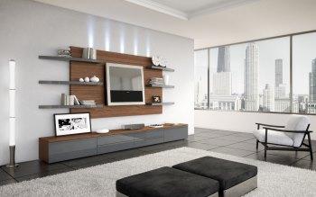 Wallpaper: Living Room Design