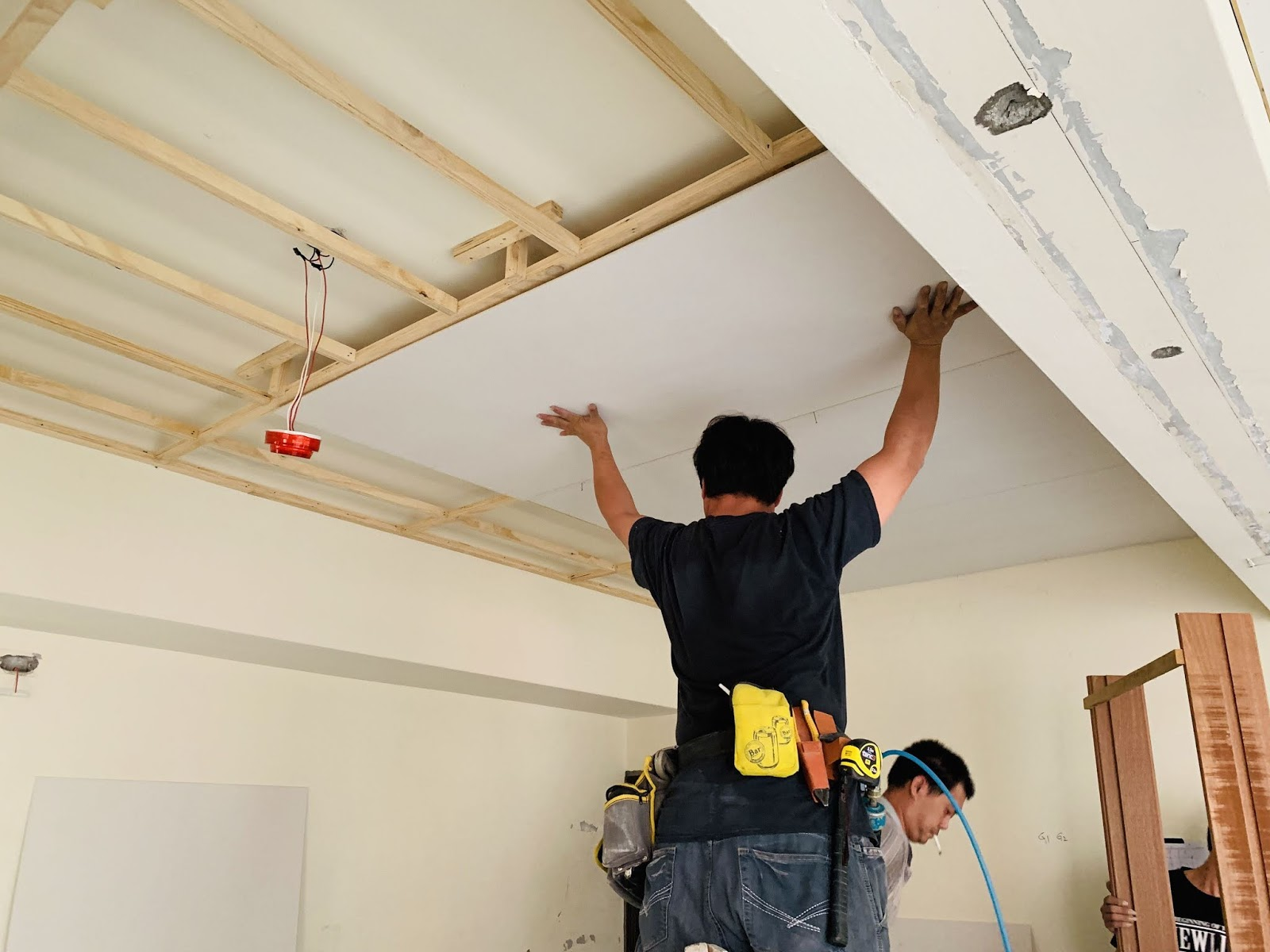 天花板封板