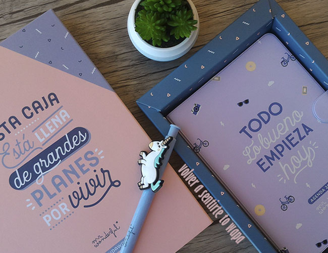 Agenda mr wonderful 2018 Semana Vista