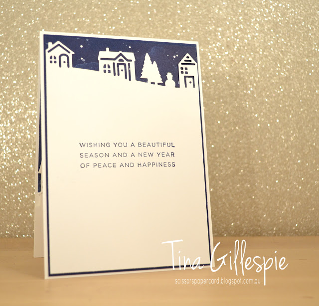 scissorspapercard, Stampin' Up!, Art With Heart, Heart Of Christmas, Hearts Come Home, Twinkle Twinkle DSP, Hometown Greetings Edgelits