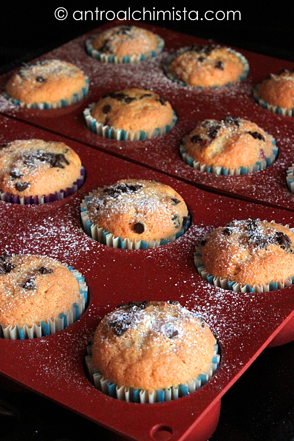 Muffins all'Acqua di Fiori d'Arancio