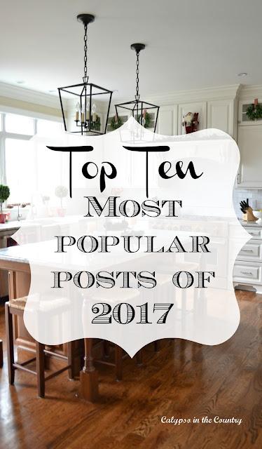Top Ten Most Popular Posts of 2017